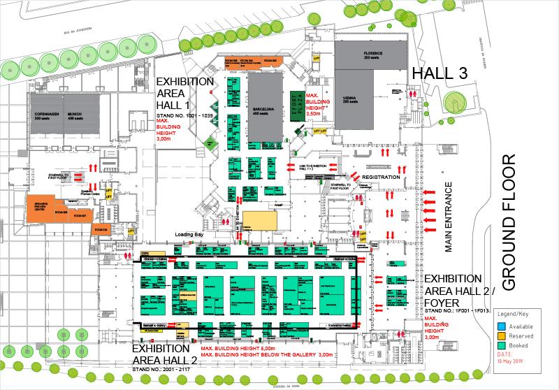 Lisbon Exhibition Venue Floor Plans Efort Congress Lisbon 2019 Efort